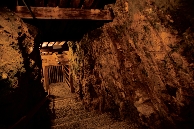 Nuggets of History at Reed Gold Mine
