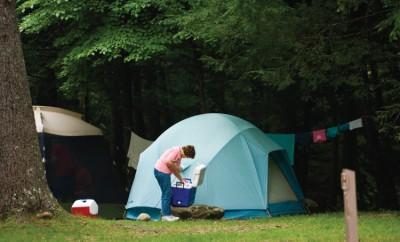 Camping across North Carolina