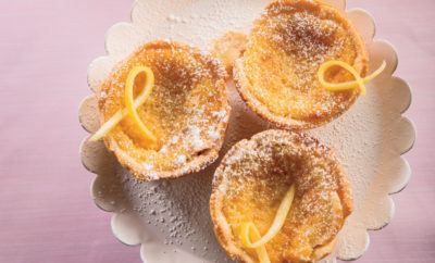 Mini Lemon Chess Pies recipe with eggs