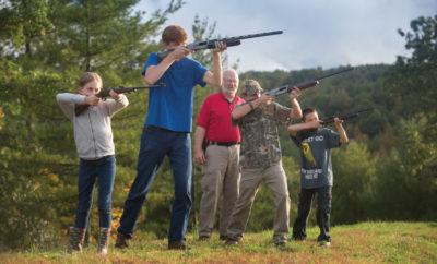Ashe County 4-H shooting