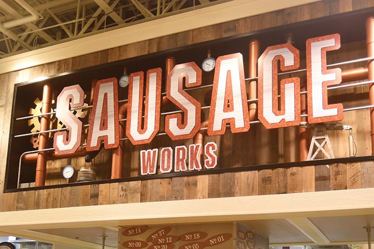 SausageWorks; Lowes Foods