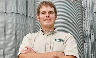 YF&R Agricultural Achievement Award Winner Lucas Richard