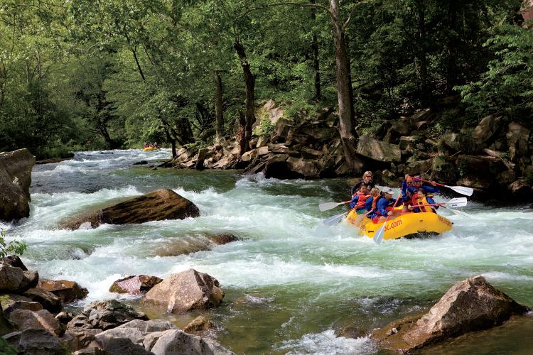 Nantahala River Rapids