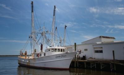 Fishing boats in NC